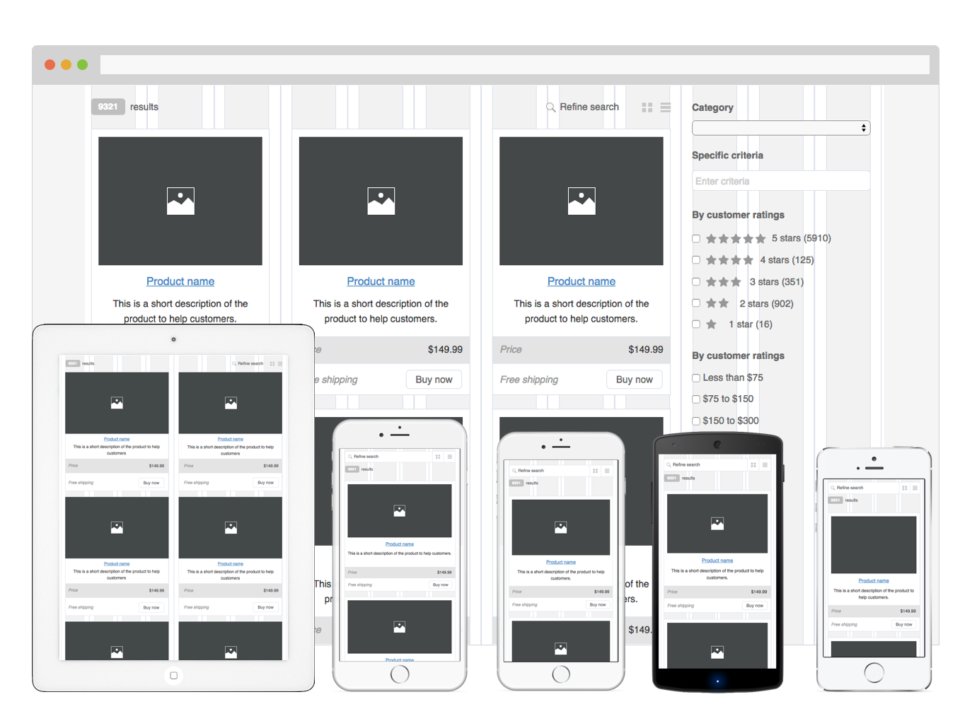 Totalwireframe Provider Of Fine Axure Widget Libraries - Axure templates
